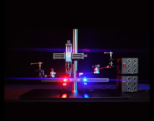 逸栊视觉_实验架搭配光源