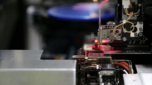高科技机械工业设备流水线生产