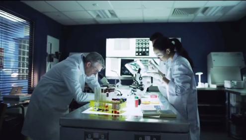 科学家科技提取DNA分子研究