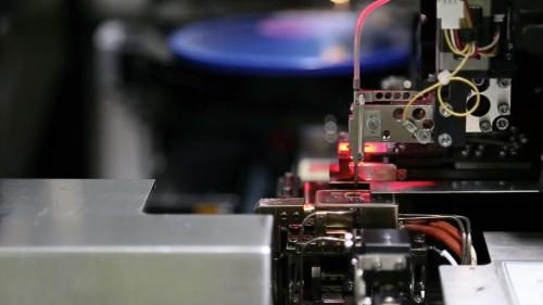机械工业设备流水线生产