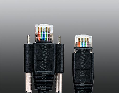工业相机专用千兆RJ45屏蔽抗干扰高柔线缆